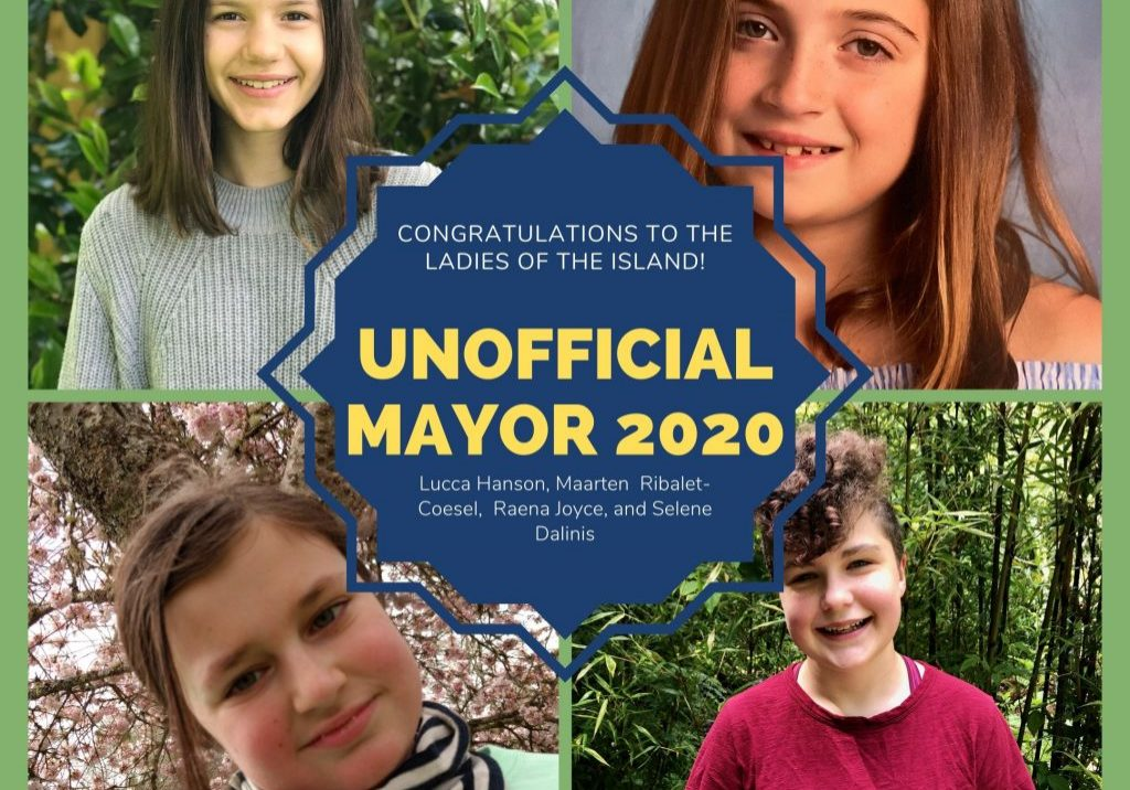 Unofficial Mayor Announcement